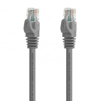 LATIGUILLO DE RED AISENS A145-0328 - RJ45 - UTP - CAT6A - 3M - GRIS