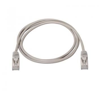 CABLE DE RED RJ-45 NANO CABLE 10.20.0801 -  CAT 6 - FTP AWG24 - GRIS - 1M