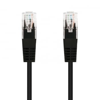 LATIGUILLO DE RED NANOCABLE 10.20.0103-BK - RJ45 - UTP - CAT5E - 3M - NEGRO