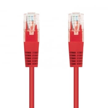 LATIGUILLO DE RED NANOCABLE 10.20.0403-R  - RJ45 - UTP - CAT6 - 3M - ROJO