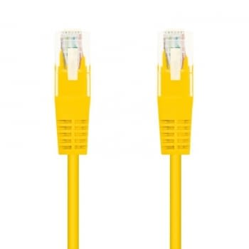LATIGUILLO DE RED NANOCABLE 10.20.0403-Y  - RJ45 - UTP - CAT6 - 3M - AMARILLO