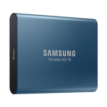 DISCO EXTERNO SAMSUNG SSD T5 500GB - USB 3.1 - TRANSFERENCIA HASTA 540MB/S