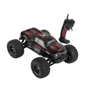 CAR UGO MONSTER - 45KM/H - EMISOR 2.4GHZ - BATERIAS 3XAAA - ESCALA 1:12 -   NEGRO