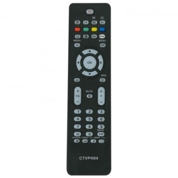 MANDO A DISTANCIA CTVPH04 COMPATIBLE CON TV PHILIPS - NO PRECISA PROGRAMACIÓN