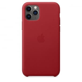FUNDA APPLE IPHONE 11 PRO LEATHER CASE - PRODUCT RED -  MWYF2ZM/A