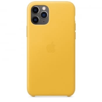 FUNDA APPLE IPHONE 11 PRO LEATHER CASE - AMARILLO CÍTRICO - MWYA2ZM/A