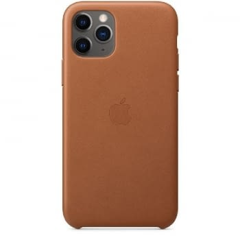 FUNDA APPLE IPHONE 11 PRO LEATHER CASE - MARRÓN CARAMELO - MWYD2ZM/A