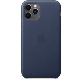 FUNDA APPLE IPHONE 11 PRO LEATHER CASE - AZUL MEDIANOCHE - MWYG2ZM/A
