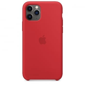 FUNDA APPLE IPHONE 11 PRO SILICONE CASE - PRODUCT RED - MWYH2ZM/A