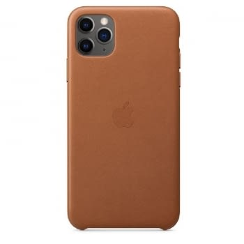 FUNDA APPLE IPHONE 11 PRO MAX LEATHER CASE - MARRÓN CARAMELO - MX0D2ZM/A