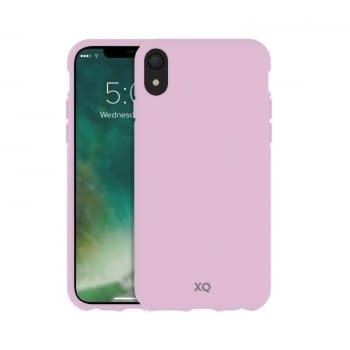 FUNDA XQISIT 36747 CHERRY BLOSSOM PINK PARA IPHONE XR - COMPATIBLE CON CARGA INALÁMBRICA - ECOLÓGICA Y BIODEGRADABLE