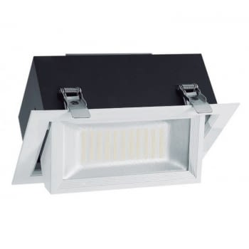 DOWNLIGHT BASCULANTE IGLUX 101677-FB - 45W - 6000ºK - 3800 LUMENES - 240*149MM