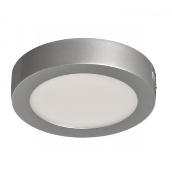 DOWNLIGHT SUPERFICIE CIRCULAR - SUP-102307-FP - 7W - 6000ºK - PLATA- 570 LUMENES - Ø120X35 MM