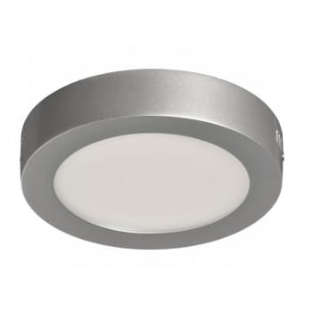 DOWNLIGHT SUPERFICIE CIRCULAR - SUP-102307-NP - 7W - 4000ºK - PLATA - 540 LUMENES - Ø120X35 MM