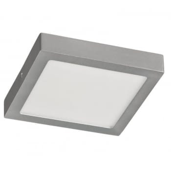 DOWNLIGHT SUPERFICIE CUADRADO - SUP-102407-NP - 7W - 4000ºK - PLATA- 540 LUMENES - 120X120X35 MM
