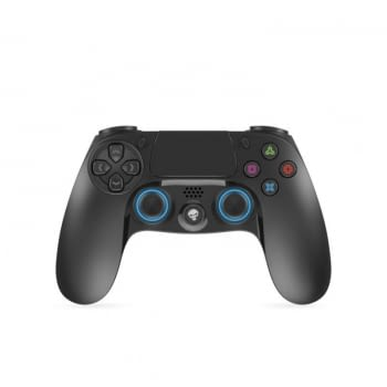 MANDO INALÁMBRICO PARA PS4 SPIRIT OF GAMER BTGP41 - BLUETOOTH - 16 BOTONES - STICKS ANALÓGICOS - DOBLE GATILLO - MOTORES DOBLE VIBRACIÓN - BAT 620MAH