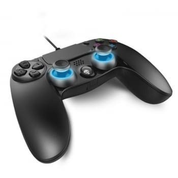 MANDO PARA PS4 SPIRIT OF GAMER PRO - CRUCETA PRECISIÓN - 2 STICKS ANALÓGICOS - 16 BOTONES - TOUCHPAD - CABLE 2.5M - COMPATIBLE PS3/PC