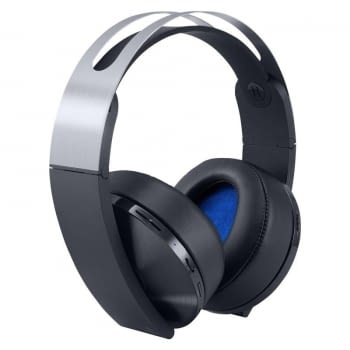 AURICULARES INALÁMBRICOS SONY PLATINUM - 7.1 VIRTUAL - AUDIO 3D - PLEGABLES - INCLUYE CONECTOR 3.5MM - COMPATIBLE PS4/PC/MAC & SMARTPHONES