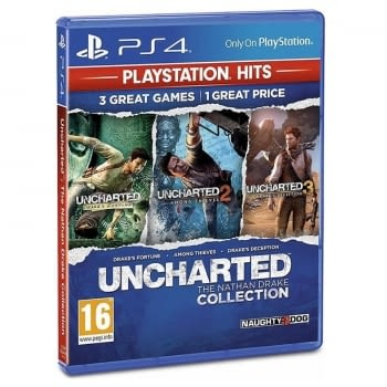 JUEGO PARA CONSOLA SONY PS4 HITS UNCHARTED COLLECTION