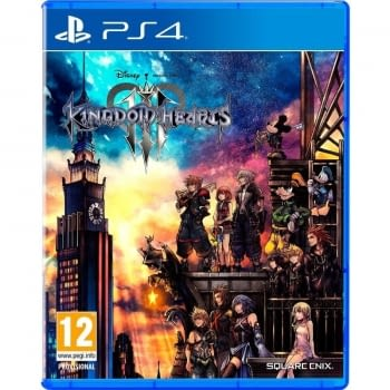 JUEGO PARA CONSOLA SONY PS4 KINGDOM HEARTS III