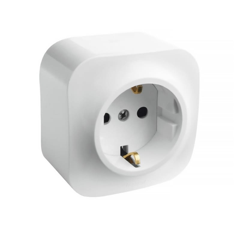 BASE DE CORRIENTE LEGRAND  FORIX 782420 - IP21 - BLANCO -
