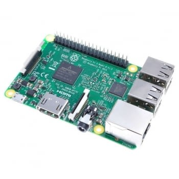 RASPBERRY PI 3 B - QC 1..2GHZ - 1GB RAM - VIDEOCORE IV 3D - BT 4.1 - 4*USB 2.0 - HDMI - WIFI - ETHERNET - MICROSD