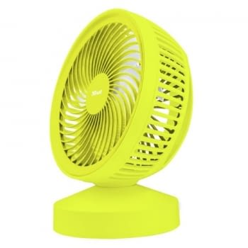 VENTILADOR USB TRUST VENTU YELLOW- 7 ASPAS - ALIMENTACIÓN USB - ASA DE TRANSPORTE - INTERRUPTOR ON/OFF