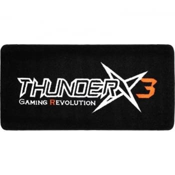 ALFOMBRA GAMING THUNDERX3 TGM10 - MEDIDAS 1000*500MM - GROSOR 5MM - MATERIAL NYLON+TPR - LAVABLE