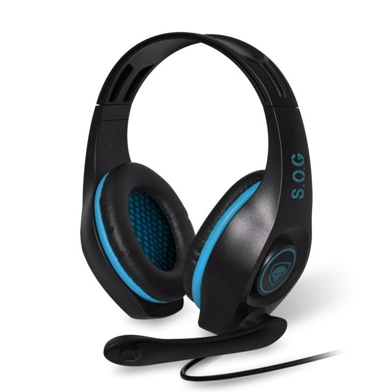 AURICULARES CON MICRÓFONO SPIRIT OF GAMER ELITE-H5 - DRIVERS 40MM - CONECTORES USB / RCA / JACK 3.5 - CABLE 3M -