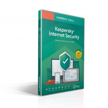 ANTIVIRUS KASPERSKY INTERNET SECURITY 2020 - 1 DISPOSITIVO - 1 AÑO - NO CD - ATTACH