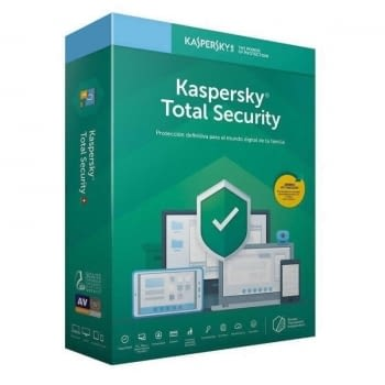 ANTIVIRUS KASPERSKY TOTAL SECURITY 2020 - 1 DISPOSITIVO - 1 AÑO - NO CD - PFSK-ES