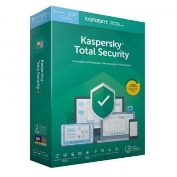 ANTIVIRUS KASPERSKY TOTAL SECURITY 2020 - 3 DISPOSITIVOS - 1 AÑO - NO CD