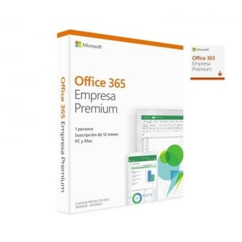 MICROSOFT OFFICE 365 EMPRESA PREMIUM - WORD - EXCEL - POWERPOINT - ONENOTE - OUTLOOK - PUBLISHER - ACCESS - 1 LICENCIA/1 AÑO - MULTIDISPOSITIVO