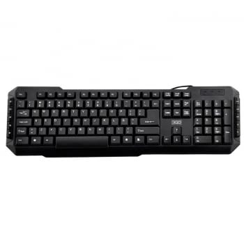 TECLADO MULTIMEDIA PS2 3GO DRILE -105 TECLAS + 10MULTIMEDIA - PS2