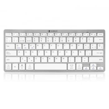 TECLADO BLUETOOTH SUBBLIM 1DYC001 DYNAMIC COMPACT SILVER - BT 3.0 - 78 TECLAS - COMPATIBLE CON APPLE/ANDROID/WINDOWS