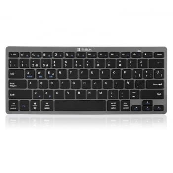 TECLADO BLUETOOTH SUBBLIM 1DYC002 DYNAMIC COMPACT GREY - BT 3.0 - 78 TECLAS - COMPATIBLE CON APPLE/ANDROID/WINDOWS