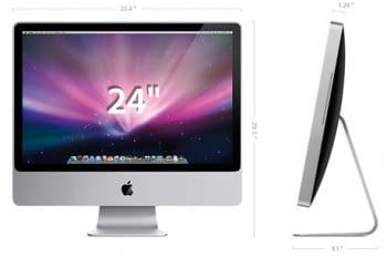 "Apple iMac 24"" C2D 2,8Ghz 4GB RAM 500GB HDD - 3"
