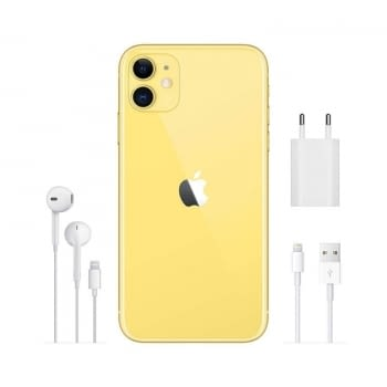 APPLE IPHONE 11 128GB YELLOW - MWM42QL/A - 4
