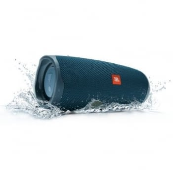 ALTAVOZ BLUETOOTH JBL CHARGE 4 BLUE - 30W - IPX7 RESIST. AL AGUA - BAT. 7500MAH FUNCIÓN POWERBANK - FUNC. MANOS LIBRES - 1