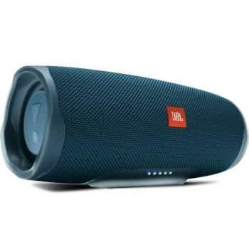 ALTAVOZ BLUETOOTH JBL CHARGE 4 BLUE - 30W - IPX7 RESIST. AL AGUA - BAT. 7500MAH FUNCIÓN POWERBANK - FUNC. MANOS LIBRES - 3