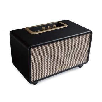 ALTAVOZ BLUETOOTH FONESTAR BLUEVINTAGE-45N NEGRO - 2X20W - ALCANCE 10M - REPRODUCTOR USB/MP3 Y AUX-IN - CONTROL GRAVES/AGUDOS - ESTILO VINTAGE - 1
