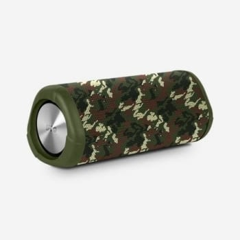 ALTAVOZ BLUETOOTH SPC TUBE VERDE - 10W - BT4.2 - BAT. 2500MAH - WATERPROOF IPX7 - AUX IN - FUNCIÓN MANOS LIBRES