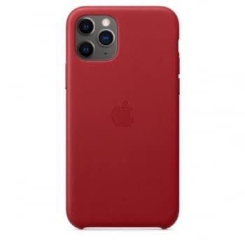 FUNDA APPLE IPHONE 11 PRO LEATHER CASE - PRODUCT RED - - 1