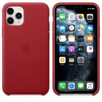 FUNDA APPLE IPHONE 11 PRO LEATHER CASE - PRODUCT RED - - 2
