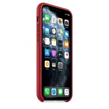 FUNDA APPLE IPHONE 11 PRO LEATHER CASE - PRODUCT RED - - 3