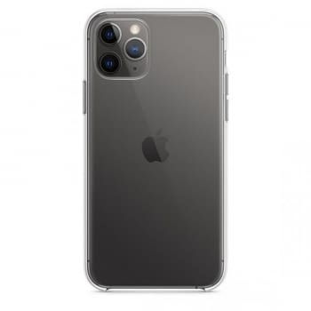 FUNDA APPLE IPHONE 11 PRO SILICONE CASE - TRANSPARENTE - 4