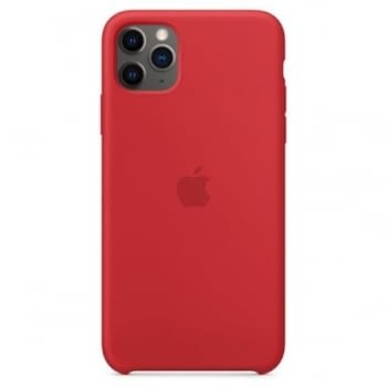 FUNDA APPLE IPHONE 11 PRO MAX SILICONE CASE -  PRODUCT RED