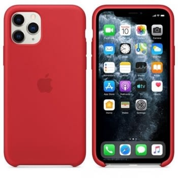 FUNDA APPLE IPHONE 11 PRO MAX SILICONE CASE -  PRODUCT RED - 2