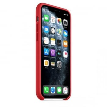 FUNDA APPLE IPHONE 11 PRO MAX SILICONE CASE -  PRODUCT RED - 3