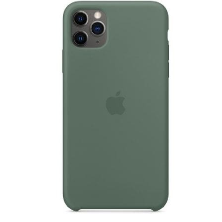 FUNDA APPLE IPHONE 11 PRO MAX SILICONE CASE - VERDE PINO -